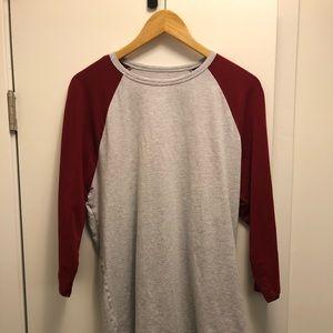 Men's lululemon 3/4 sleeve shirt
